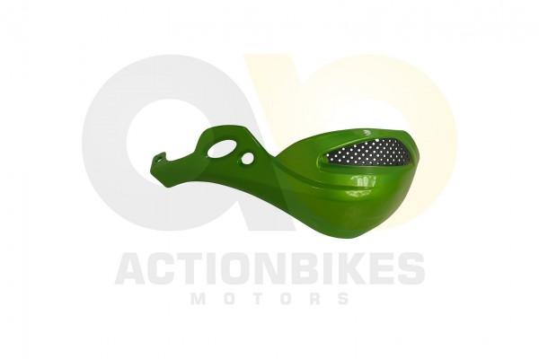 Actionbikes Shineray-XY250ST-9E--SRM--STIXE-Handprotector-links-grn-metallik 35333138303034332D372D3