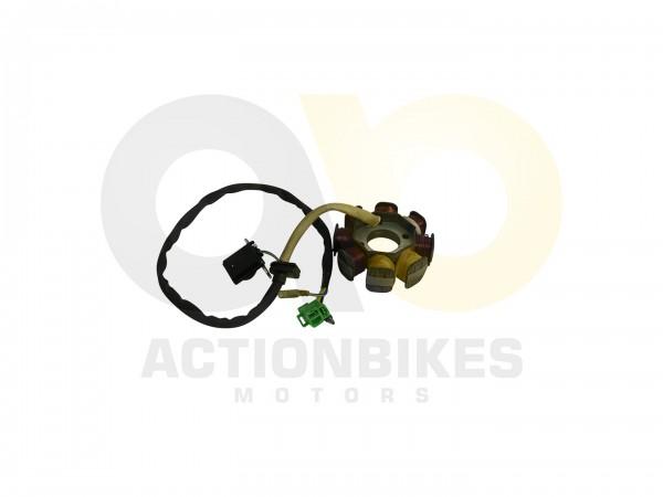 Actionbikes Motor-139QMA-A139QMA-Lichtmaschine-komplett 3131313131302D313339514D412D30313030 01 WZ 1