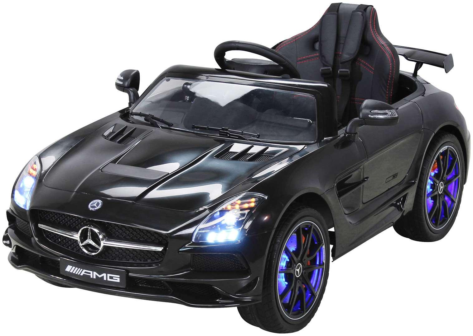 B-Ware Kinder Elektro Auto Mercedes SLS AMG Kinderfahrzeug Elektrofahrzeug Kinderfahrzeuge