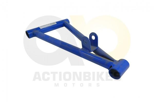 Actionbikes Mini-Quad-110-cc-Querlenker-unten-blau-S-12S-14-leerohne-Buchsenohne-Kugelkpfe 333535303