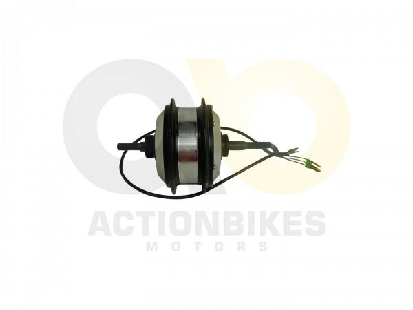 Actionbikes E-Bike-Fahrrad-Stahl-HS-EBS106-Motor-36V-250W--2Serie-Speichenaufnahme-mitte-Schwarz 452