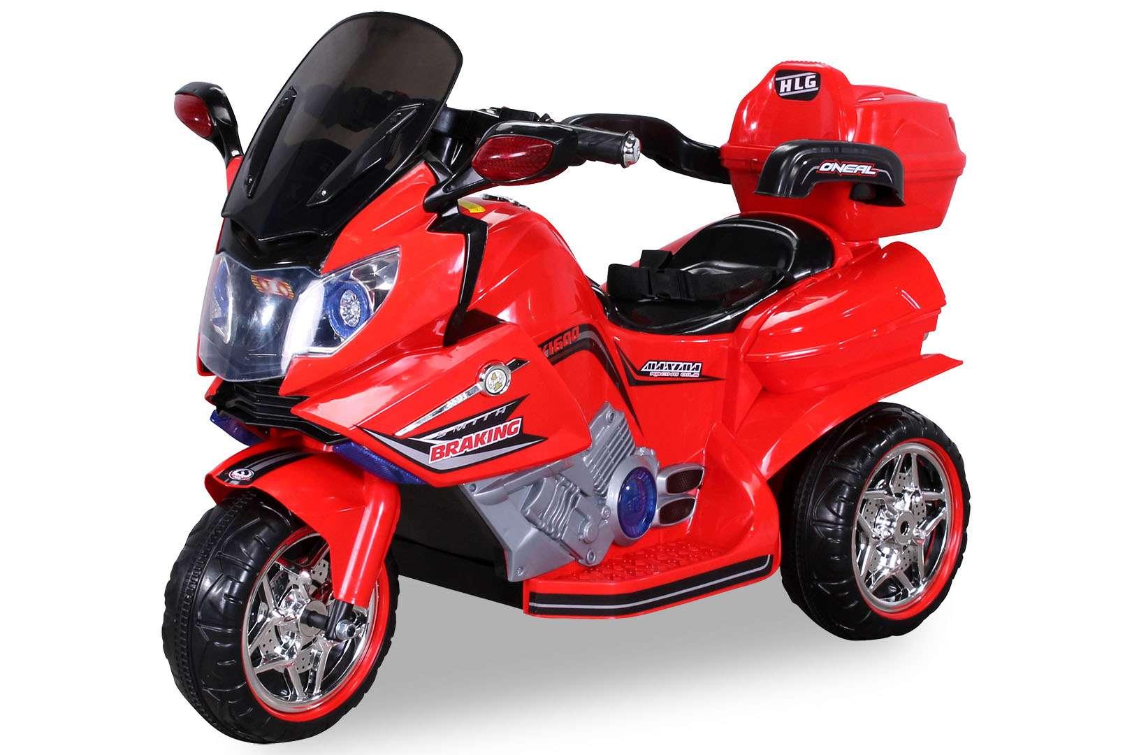 Kinderfahrzeuge Trike C031 Sitz grau Elektromotorrad