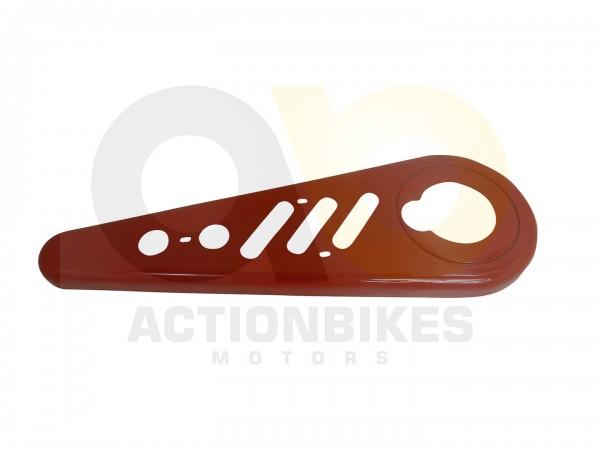 Actionbikes Miniquad-Elektro49-cc-StandardRacer-Kettenschutz-hinten-rot-Grundform 57562D4154562D3032