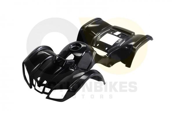 Actionbikes Miniquad-Mini-S8-Torino-49ccElektro-Verkleidung-schwarz 48422D4D4154562D31303130 01 WZ 1