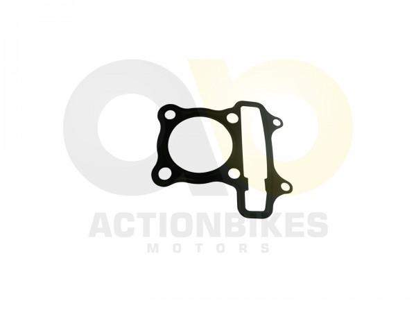 Actionbikes Motor-152QMI-Dichtung-Zylinderkopf-Metall 3130313230352D313532514D492D30303030 01 WZ 162