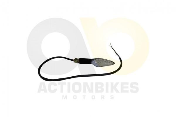 Actionbikes Egl-Mad-Max-250300-Blinker-vornehinten-links-LED-Kabel-orangegrn-Maddex 33373034302D3131