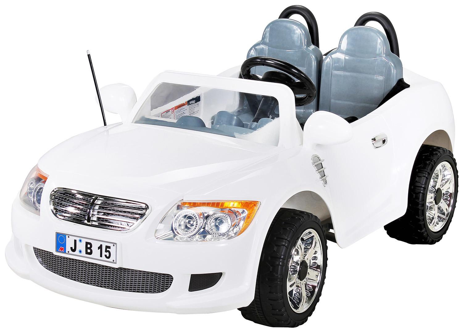 kinder elektroauto 2 sitzer b15 mit 2x 45 watt motor. Black Bedroom Furniture Sets. Home Design Ideas