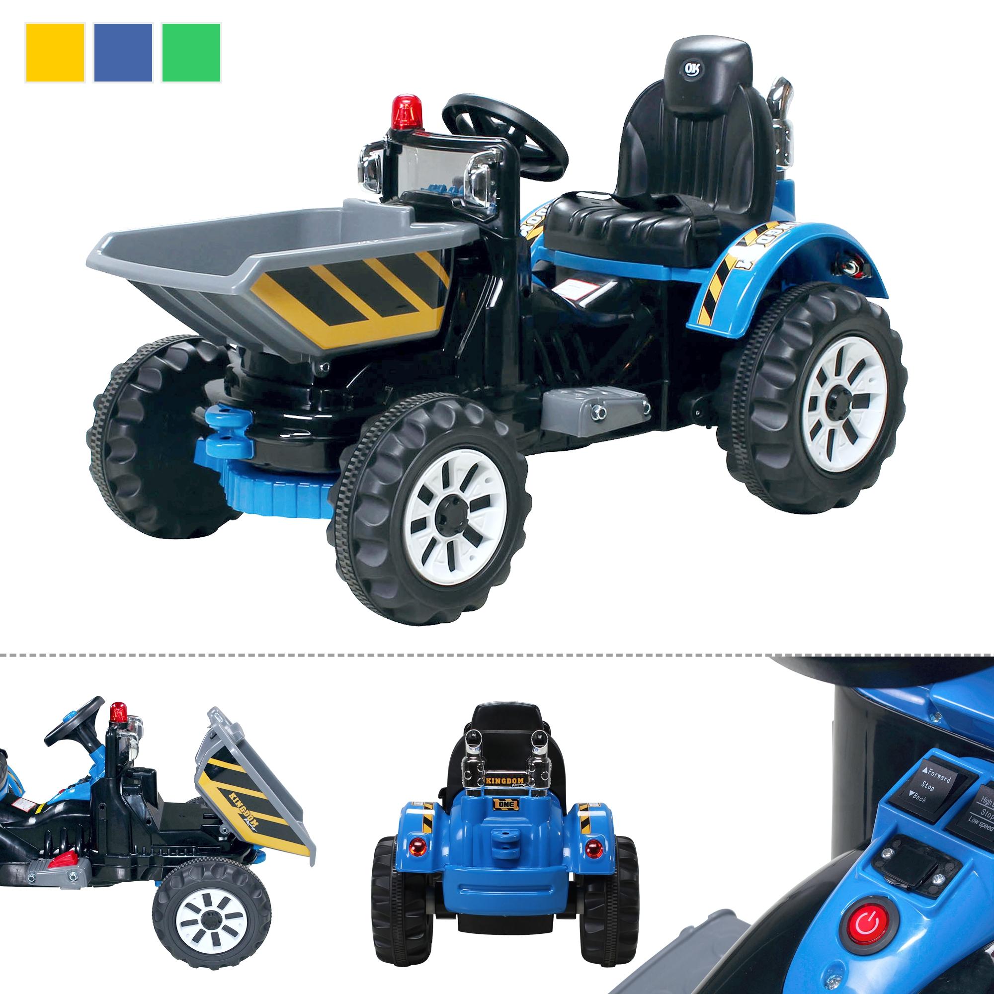 kinder elektro auto radlader 328 bagger elektrofahrzeug