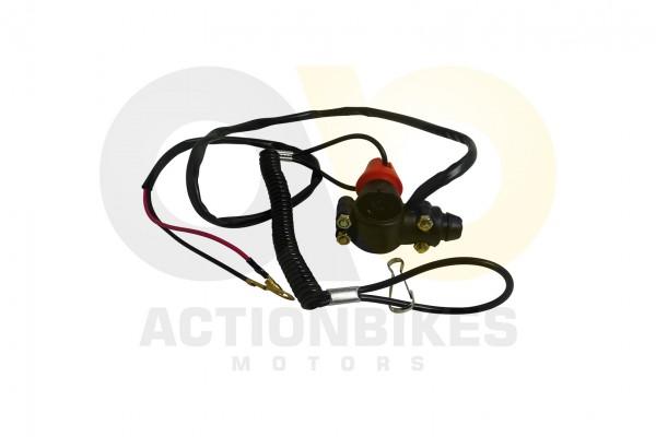 Actionbikes Miniquad-Highper-49-cc-Stop-Schalter-links-mit-Killschalter-und-Abreileine 48502D4D512D3