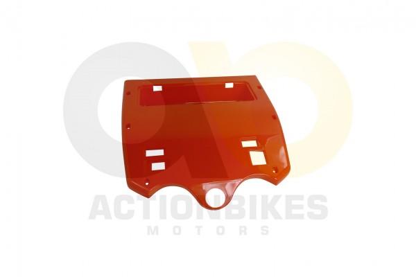 Actionbikes Shengqi-Traktor-110-cc-Verkleidung-vor-Sitzflche-Klappe-rot 53513131304E462D5331352D33 0