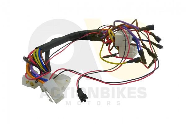Actionbikes Elektroauto-BMX-SUV-A061-Kabelbaum-SchalterGaspedalBeleuchtung-vorne 5348432D53502D32313