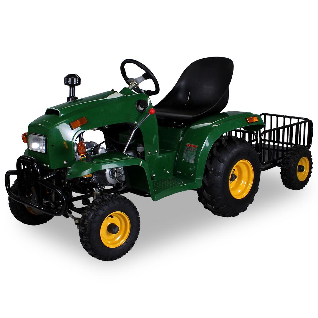kindertraktor 110 cc mit anh nger kinder traktor kinder fahrzeuge miweba gmbh. Black Bedroom Furniture Sets. Home Design Ideas