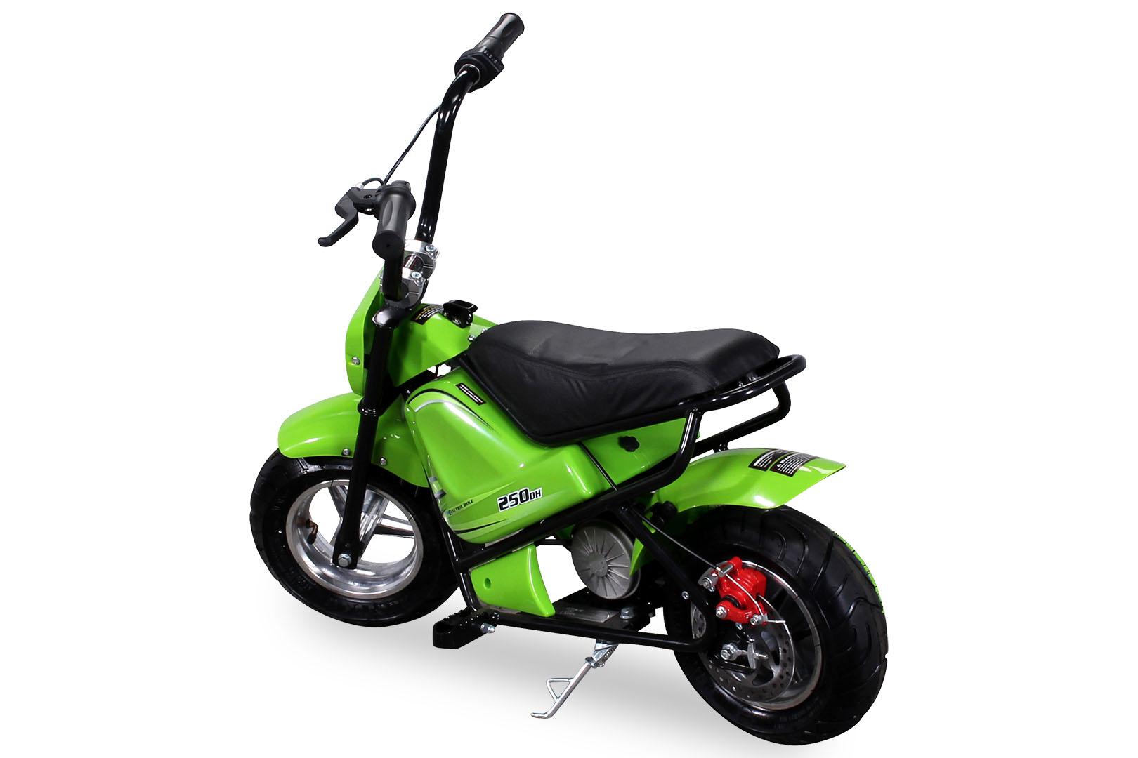 mini e bike minibike scooter sq250dh 250 watt e scooter. Black Bedroom Furniture Sets. Home Design Ideas