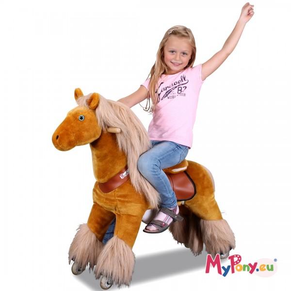 MyPony Pony-Azuro Hellbraun 4E33303433 1080x1080-Amazon-ohne-Logo L 1620x1080