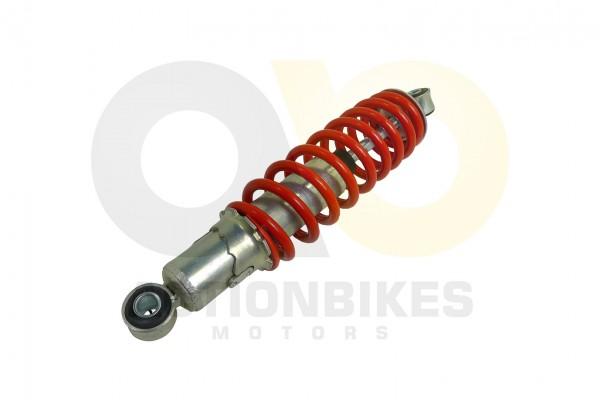 Actionbikes Mini-Quad-110-cc-Stodmpfer-vorne-S-3BS-5S-8--24cm-Auge-mitte-Auge-mitte-roter-Feder 3335