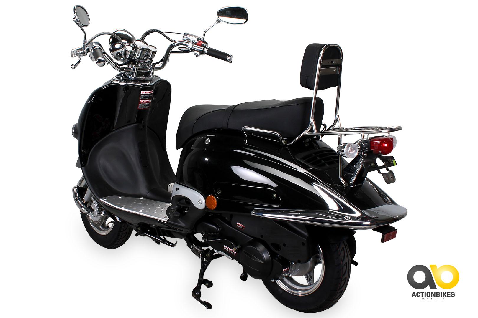 znen retro roller zn125 h motorroller 125 cc retroroller scooter 125ccm ebay. Black Bedroom Furniture Sets. Home Design Ideas