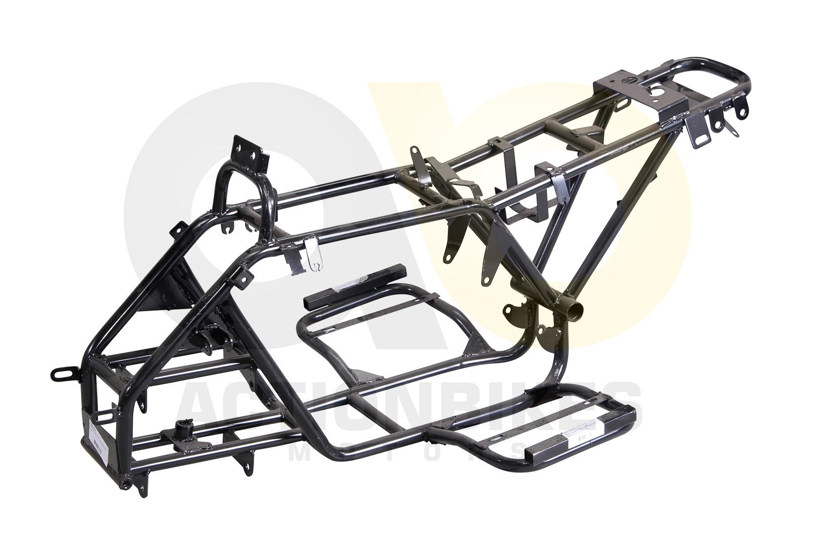 Mini Quad 110cc / 125cc Rahmen S-8 | Fahrzeug Rahmen | Ersatzteile ...