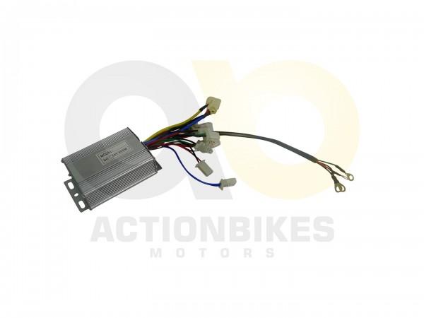Actionbikes Miniquad-Elektro-Steuereinheit-fr-800W-aktuell-ab-052015--2-weier-Stromstecker6xSchwarz-