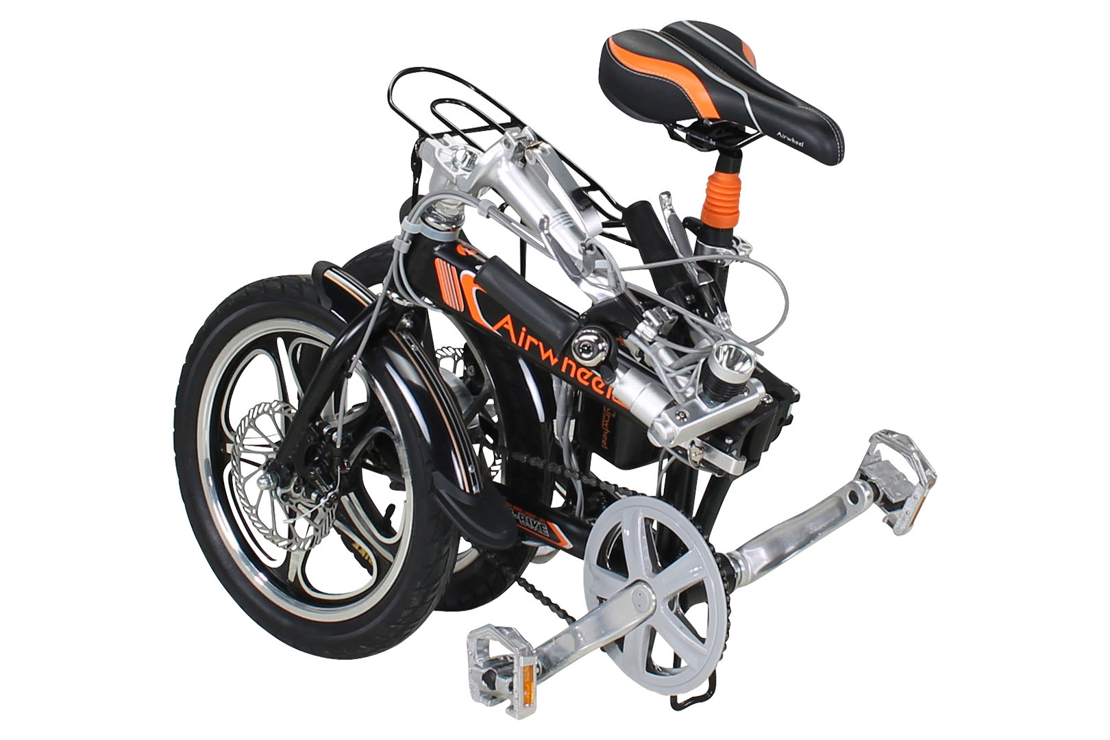 airwheel r5 faltbares e bike aluminium klapprad elektrofahrrad citybike pedelec ebay. Black Bedroom Furniture Sets. Home Design Ideas