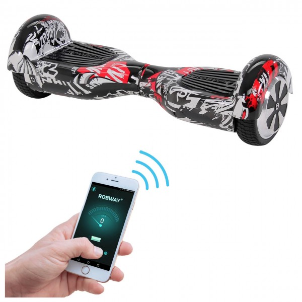 Actionsbikes Robway Hoverboard W1 neu Startbild_98330