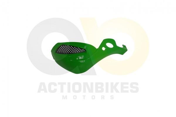 Actionbikes Shineray-XY250ST-9E--SRM--STIXE-Handprotector-rechts-grn-hellkein-Metallik 3533313830303