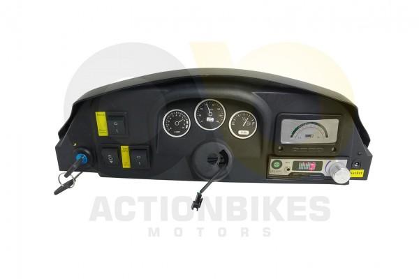 Actionbikes Elektroauto-Sportwagen-KL-106-Amaturenbrett-komplett-mit-Schalter-usw-NEUE-Version-schwa