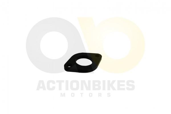 Actionbikes Motor-BN152QMI-ZN125-Kunststoffdichtung-Vergaseransaugrohr 424E313532514D492D30323030303
