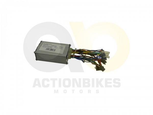 Actionbikes E-Bike-Fahrrad-Stahl-HS-EBS106-Steuereinheit---Yurn-Lang-ModelYK285 452D313030302D32302D