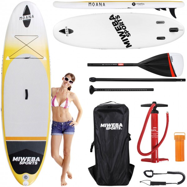Miweba-Sports Stand-Up-Paddle Moana Sunrise Orange 305cm Vorteile2_100138