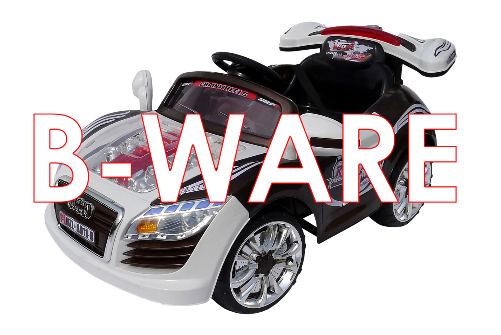 b ware kinder elektroauto sportwagen cabrio a011 8. Black Bedroom Furniture Sets. Home Design Ideas