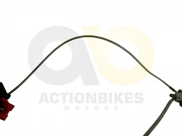 Actionbikes Shineray-XY200ST-6A-Bremsleitung-Verteiler-vorne---Bremssattel-hinten 37323031303336322D
