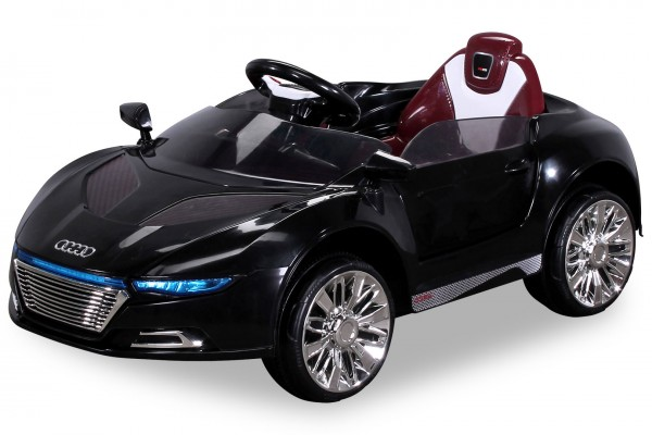 Elektro Kinder Auto Elektrofahrzeug Sportwagen Akku Spyder Schwarz Batteriebetriebene Fahrzeuge