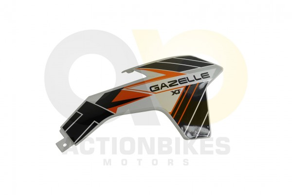 Actionbikes Highper-Mini-Crossbike-Gazelle-49-cc-2-takt--500W-Verkleidung-vorne-rechts-Orange 48502D