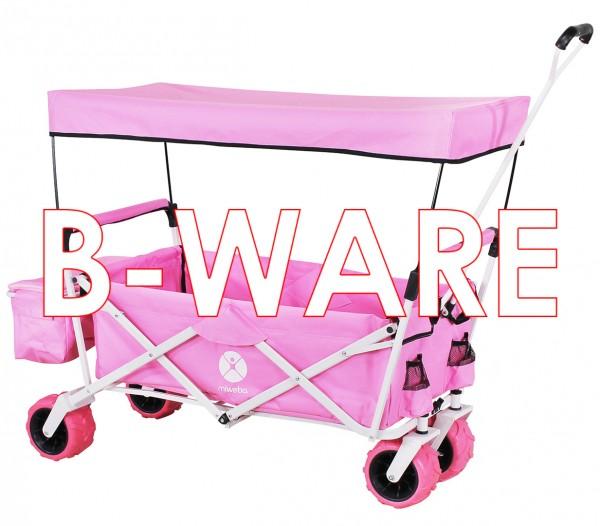 Miweba Bollerwagen-MB-10 Pink B-Ware_92052