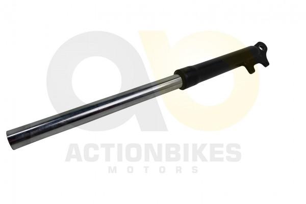 Actionbikes Mini-Cross-Delta-Stodmpfer-vorne-links-mit-Bremssattelaufnahme-schwarz 48442D3130302D303