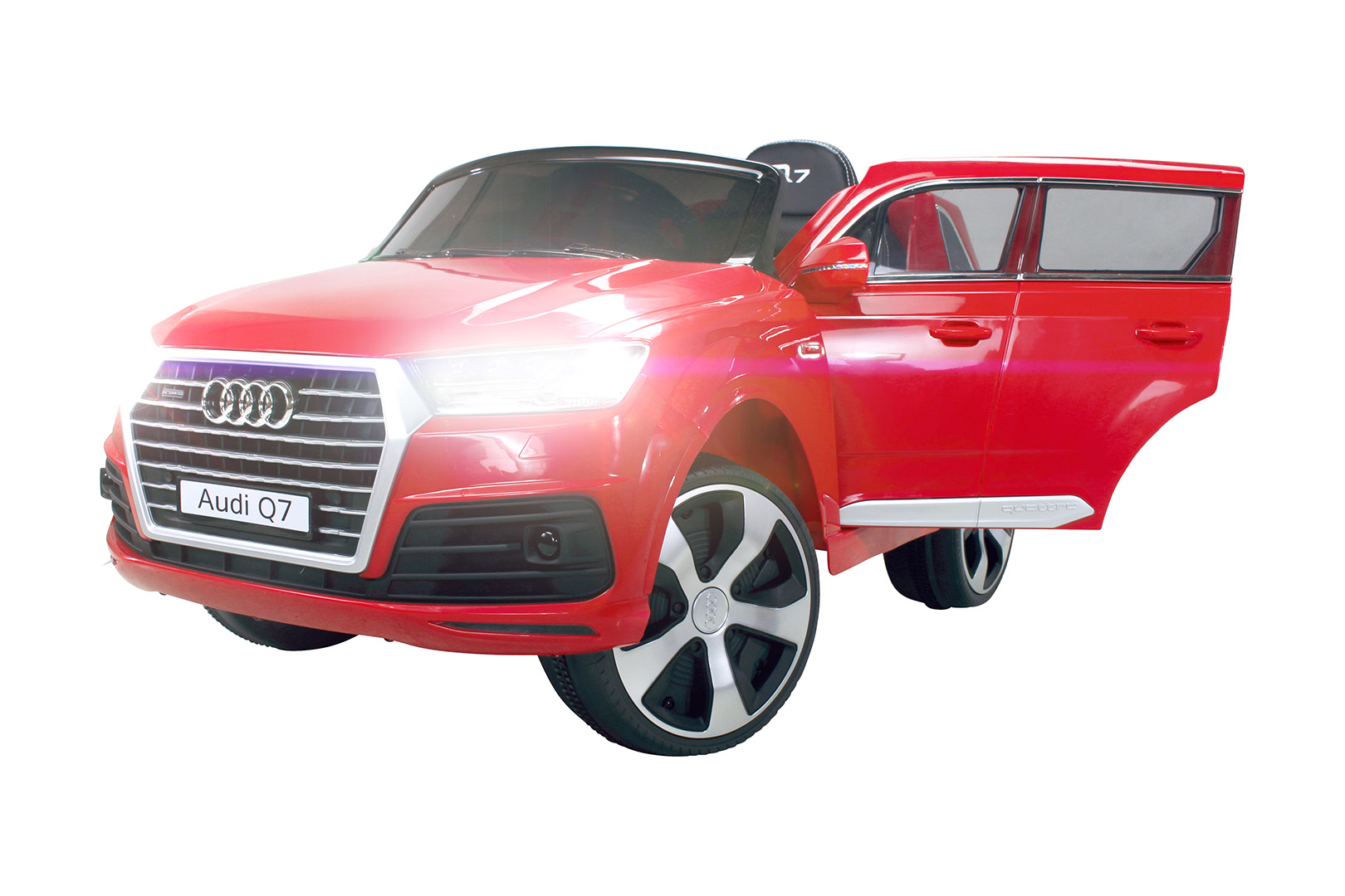 kinder elektroauto audi q7 highdoor suv kinderauto. Black Bedroom Furniture Sets. Home Design Ideas
