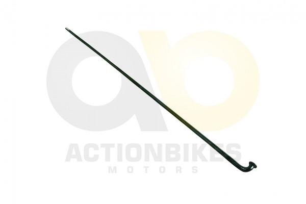 Actionbikes Elektro-Fahrrad-Stahl-Speichen-Hinterrad--Motor-schwarz-2x212mm- 3033353032303238 01 WZ