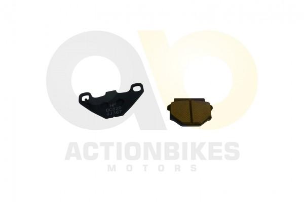 Actionbikes Bremsbelge-vorne-Dinli-DL801DL904Access-300hintenDinli-DL801DL904Access-300Jetpower-DL70