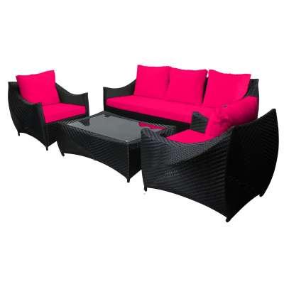 Schwarz, Pink