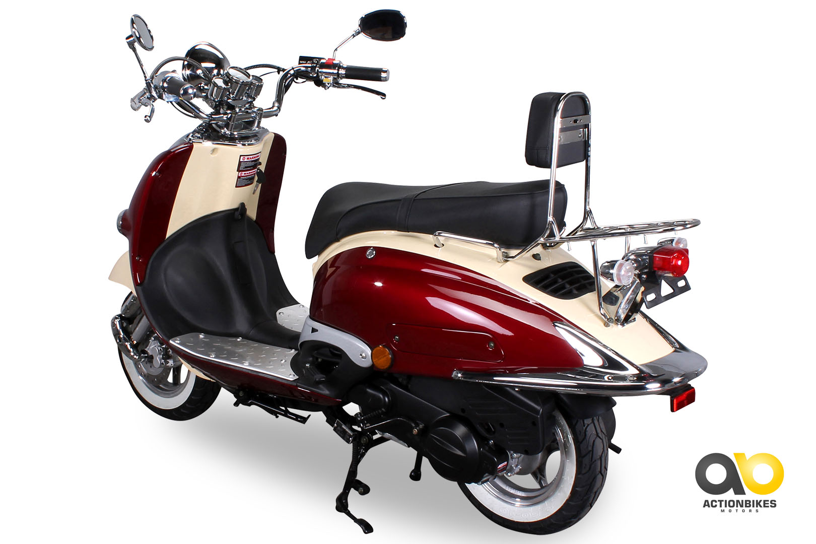znen retro scooter zn125 h motor scooter 125 cc. Black Bedroom Furniture Sets. Home Design Ideas