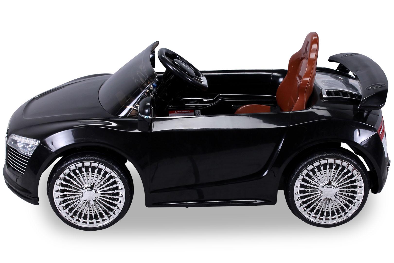 enfants voiture lectrique audi r8 style pour v hicule 9926. Black Bedroom Furniture Sets. Home Design Ideas