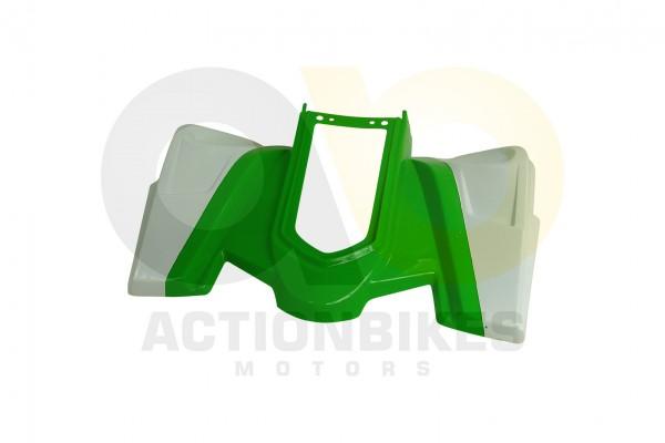 Actionbikes Miniquad-Elektro49-cc-Racer-Verkleidung-grnwei-hinten 57562D4154562D3032342D342D31302D37